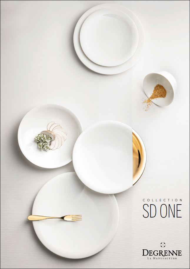 SD ONE Plateware collection - DEGRENNE Paris
